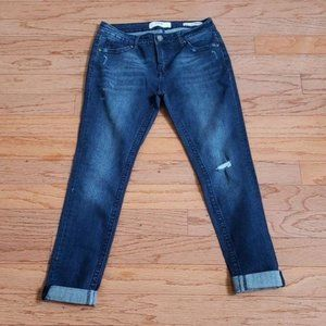 VGS Roll Up Skinny Jeans sz 4